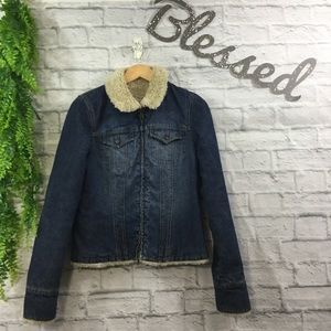 Abercrombie and Finch Denim Jacket.